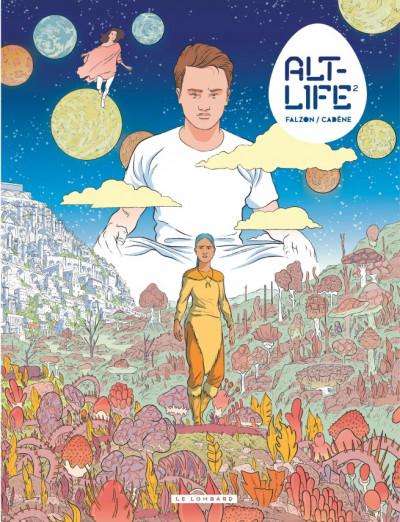 Couverture Alt-life tome 2 + ex-libris offert