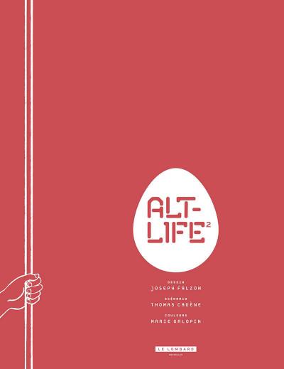 Page 4 Alt-life tome 2 + ex-libris offert