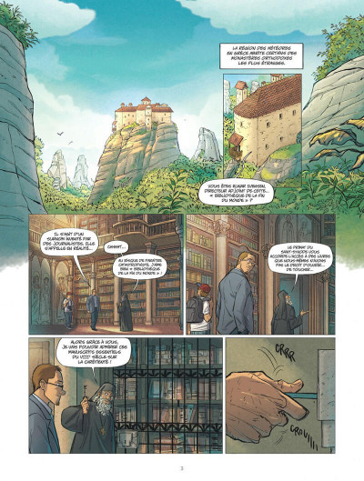 Page 3 Les omniscients tome 1