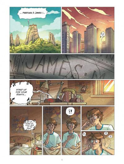 Page 5 Les omniscients tome 1