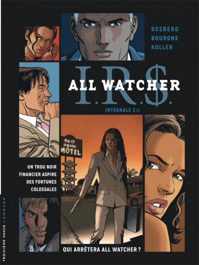 Couverture IR$ all watcher - intégrale tome 2