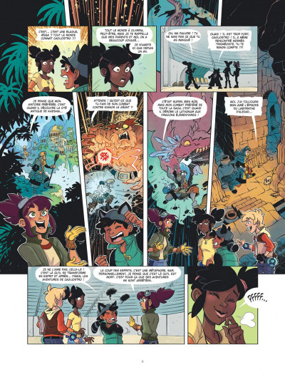 Page 3 Marblegen tome 1 - Le légendaire Cagliostro