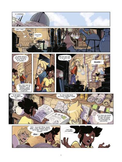 Page 7 Marblegen tome 1 - Le légendaire Cagliostro