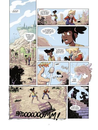 Page 8 Marblegen tome 1 - Le légendaire Cagliostro