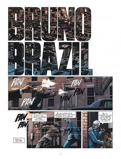 Page 3 Les nouvelles aventures de Bruno Brazil tome 1 + ex-libris offert