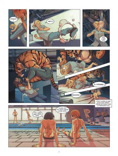 Page 9 Klaw - intégrale tome 1