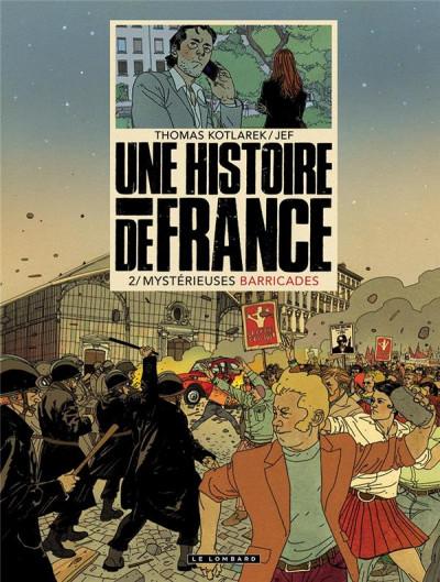 Couverture Une histoire de France tome 2