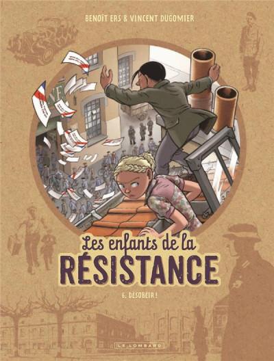Couverture Les enfants de la résistance tome 6