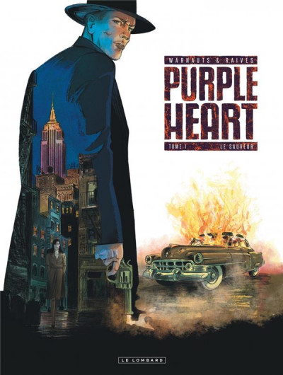 Couverture Purple heart tome 1 + ex-libris offert