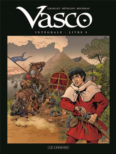 Couverture Vasco - intégrale tome 9