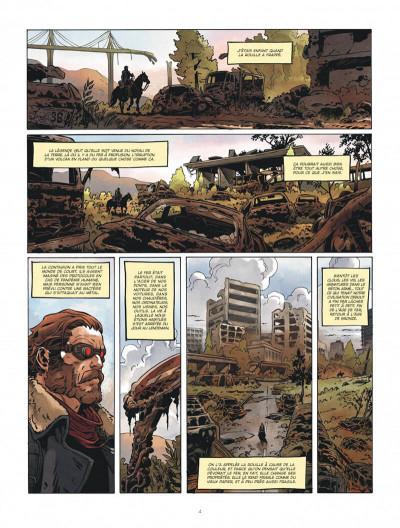 Page 4 Le convoyeur tome 1 + ex-libris offert