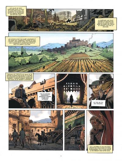 Page 5 Le convoyeur tome 1 + ex-libris offert