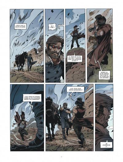 Page 7 Le convoyeur tome 1 + ex-libris offert