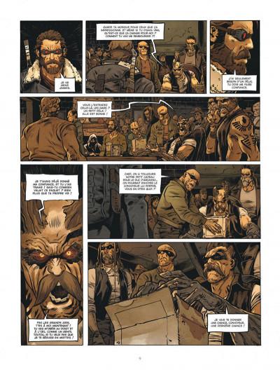 Page 9 Le convoyeur tome 1 + ex-libris offert