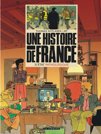 Couverture Une histoire de France tome 3