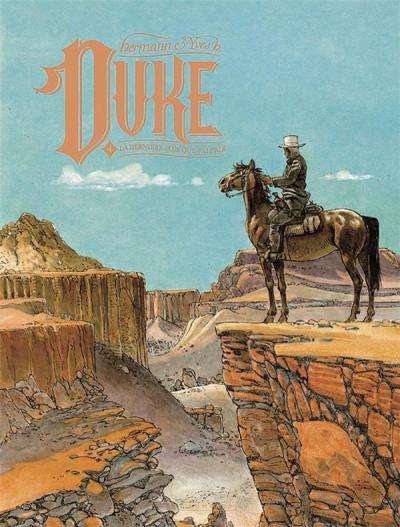 Couverture Duke tome 4 + ex-libris offert