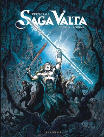 Couverture Saga valta - intégrale