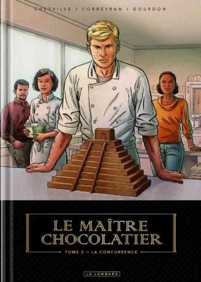 Couverture Le maître chocolatier tome 2