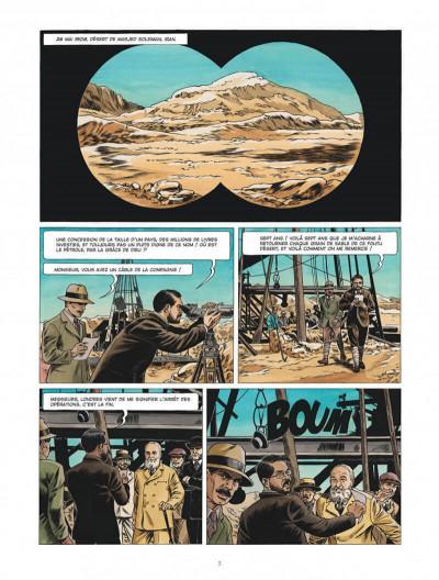 Page 3 Chroniques diplomatiques tome 1 + ex-libris offert