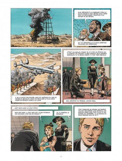 Page 4 Chroniques diplomatiques tome 1 + ex-libris offert