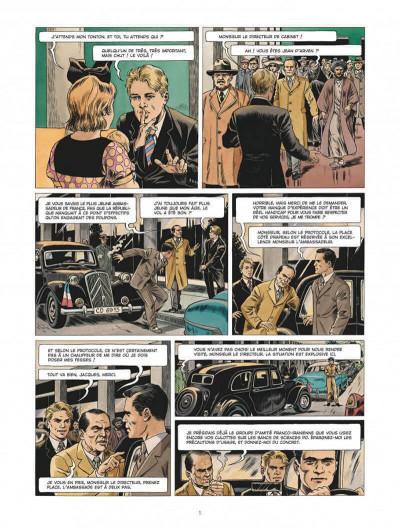 Page 5 Chroniques diplomatiques tome 1 + ex-libris offert
