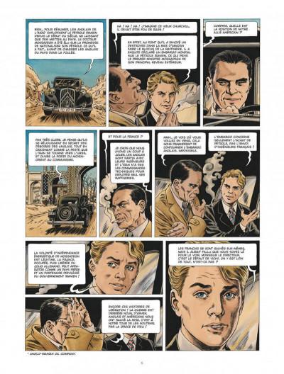 Page 6 Chroniques diplomatiques tome 1 + ex-libris offert