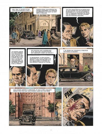 Page 7 Chroniques diplomatiques tome 1 + ex-libris offert