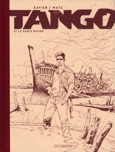 Couverture Tango tome 2 - édition noir et blanc (48h BD)