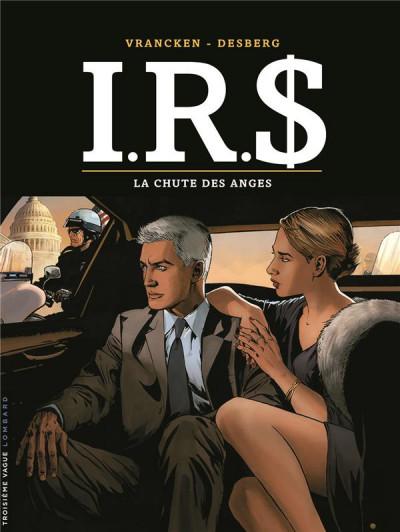 Couverture I.R.$ tome 21 + ex-libris offert