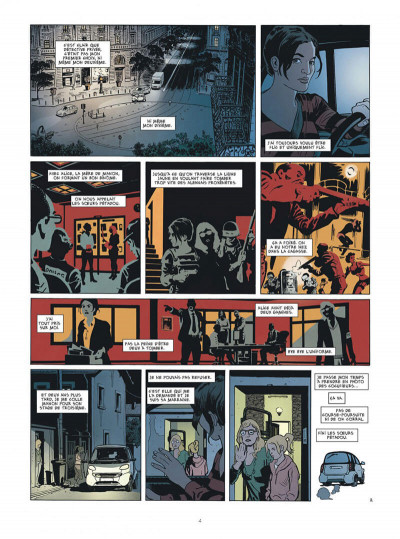 Page 4 Karmela Krimm tome 1 + ex-libris offert