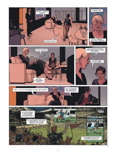 Page 7 Karmela Krimm tome 1 + ex-libris offert