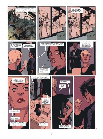 Page 8 Karmela Krimm tome 1 + ex-libris offert