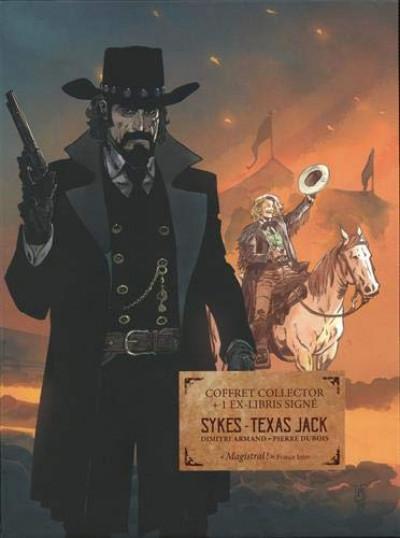 Couverture Sykes + Texas jack - coffret