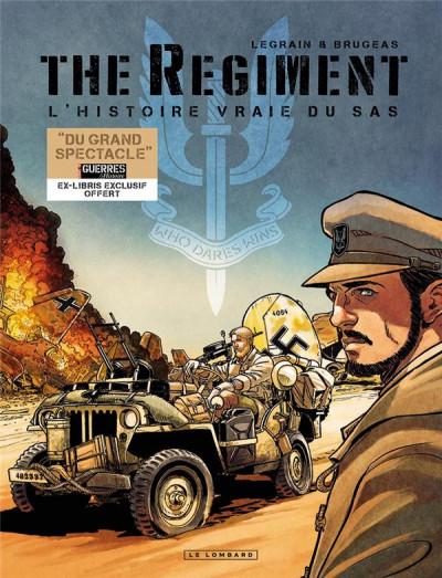 Couverture The regiment - fourreau tomes 1 à 3