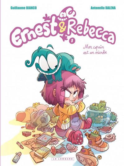 Couverture Ernest et Rebecca tome 1