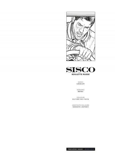 Page 2 Sisco tome 12 + ex-libris offert