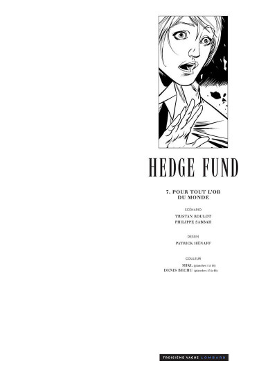 Page 2 Hedge fund tome 7