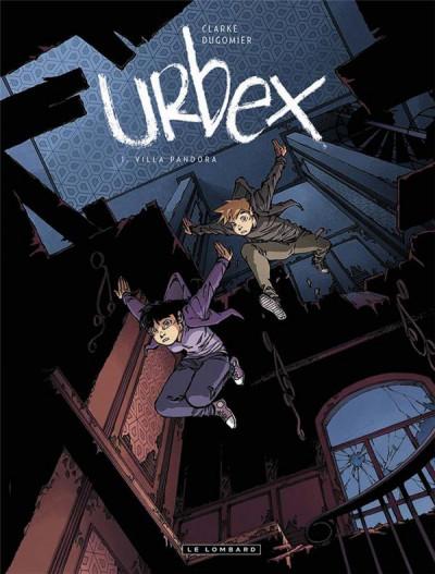 Couverture Urbex tome 1