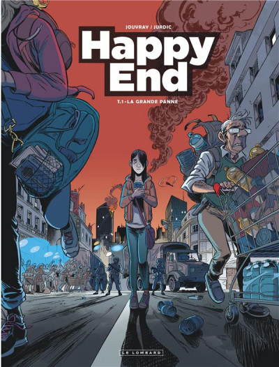 Couverture Happy end tome 1