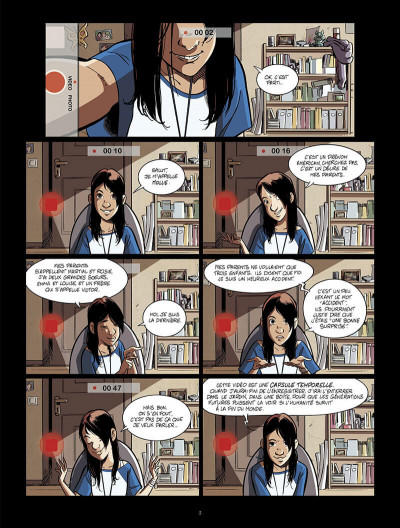 Page 4 Happy end tome 1