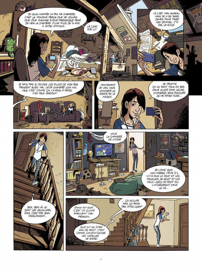 Page 5 Happy end tome 1