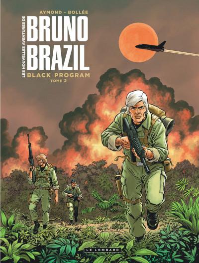 Couverture Les nouvelles aventures de Bruno Brazil tome 2