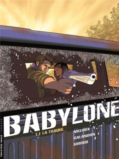 Couverture Babylone tome 1