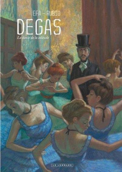Couverture Degas, la danse de la solitude