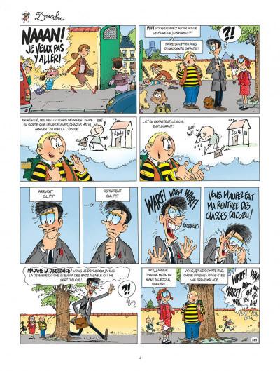 Page 4 L'élève Ducobu tome 25
