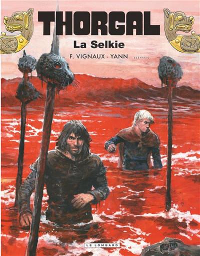 Couverture Thorgal tome 38 + ex-libris offert