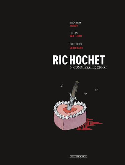 Page 2 Les nouvelles enquêtes de Ric Hochet tome 5 + ex-libris offert
