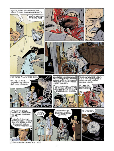 Page 8 Les nouvelles enquêtes de Ric Hochet tome 5 + ex-libris offert