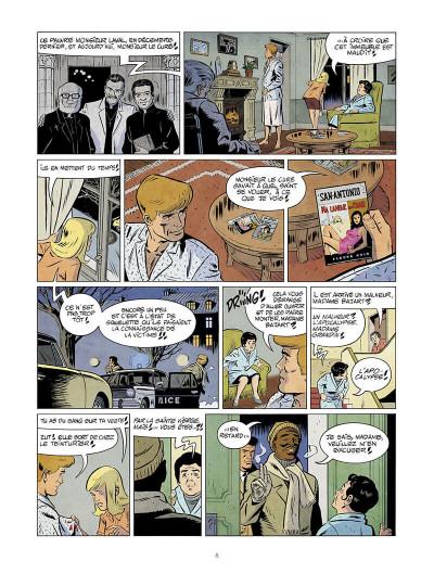 Page 9 Les nouvelles enquêtes de Ric Hochet tome 5 + ex-libris offert
