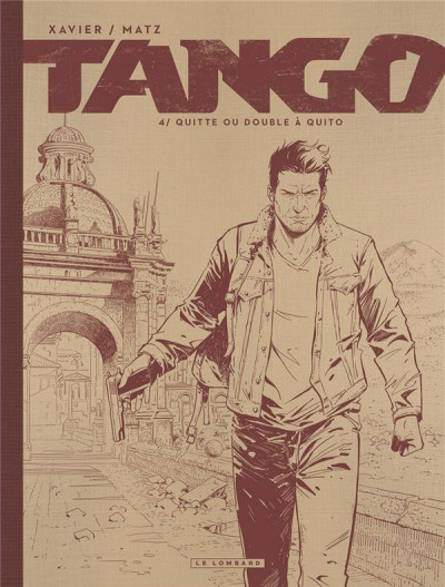 Couverture Tango tome 4 - édition noir et blanc